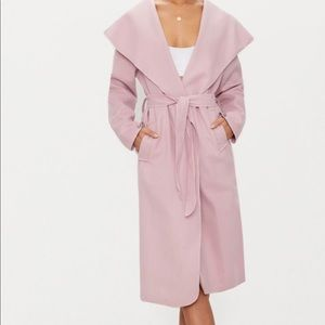 Brand new pink trench-coat
